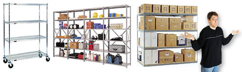 selecting industrial shelving