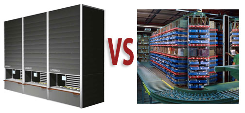Horizontal Carousels vs. Verticla Lift Modules