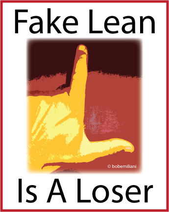 fake lean