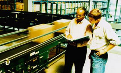conveyor maintenance team