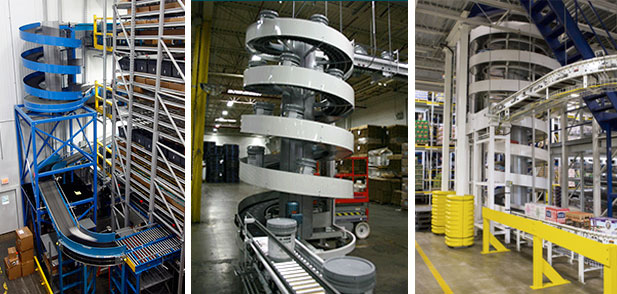 spiral conveyor applications