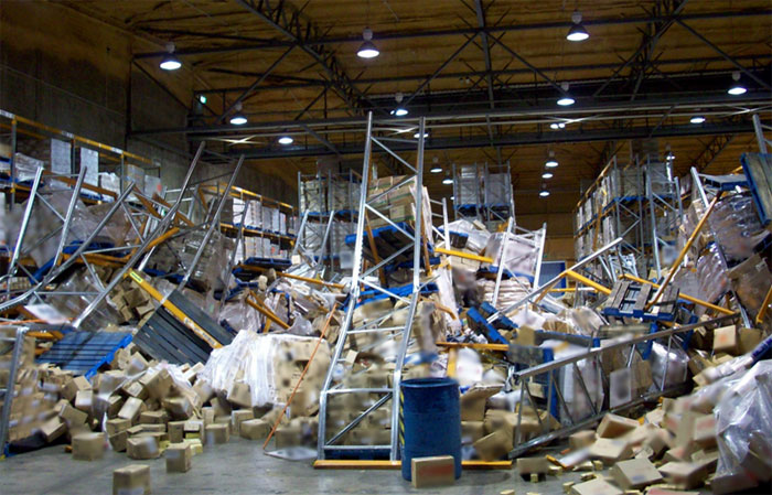 Pallet Rack Collapse