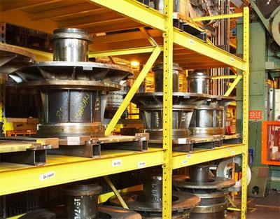 heavy die storage rack
