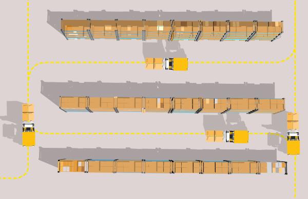 warehouse traffic management