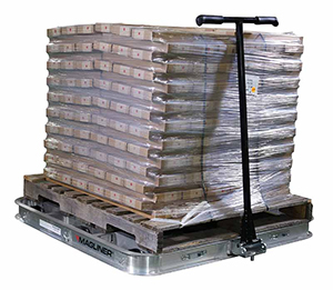 rolling pallet dolly