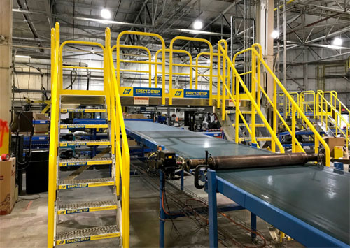 crossover for a belt conveyor system