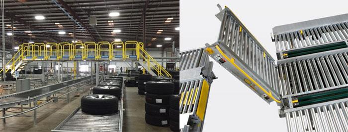 conveyor cross over choices