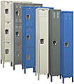 Metal lockers for schools and industry