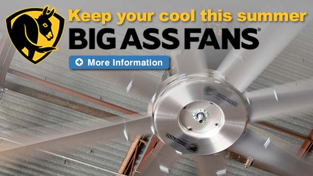 High Velocity Low Speed Fans - Big Ass Fans