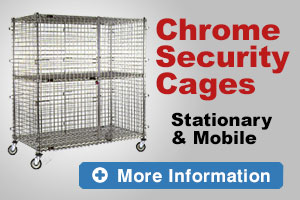 Chrome Security Cages