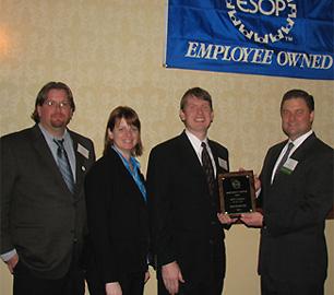 ESOP association award presentation