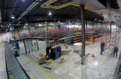 warehouse reconfiguration