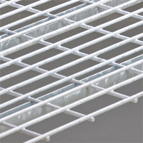 Hot dip galvanized rack decking