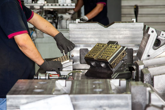 Component assembly in a manufacturing operation