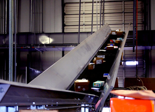 trough conveyor system