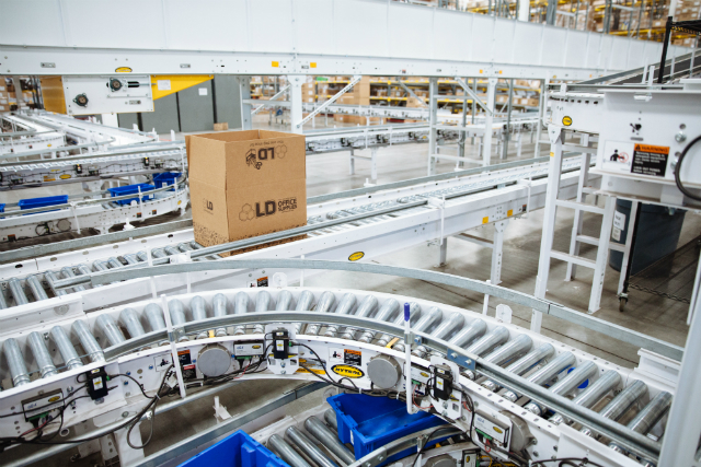 Hytrol conveyor system