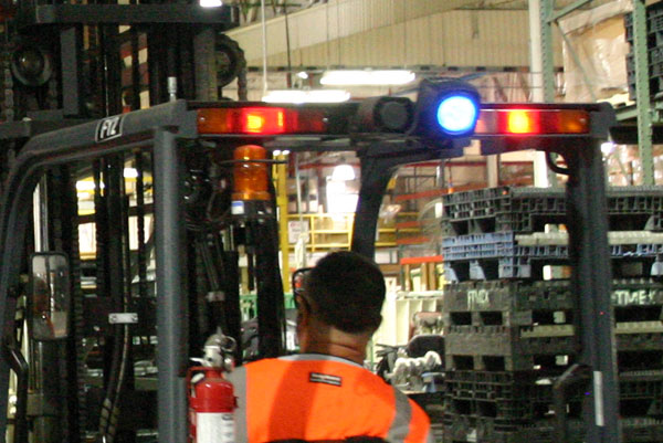 forklift lights