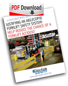 Justify an AisleCop Forklift Safety System