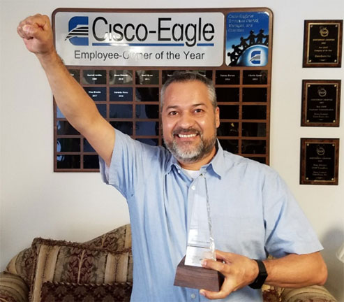 Gerardo Perez - Employee of the Year