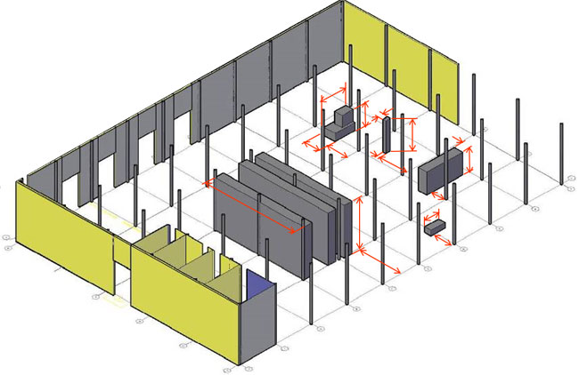 facility 3d layout
