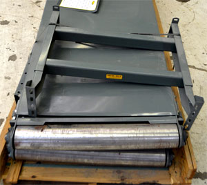 re-used conveyors on a pallet