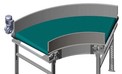 belt curve conveyor