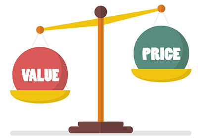 value vs. price is always the balance