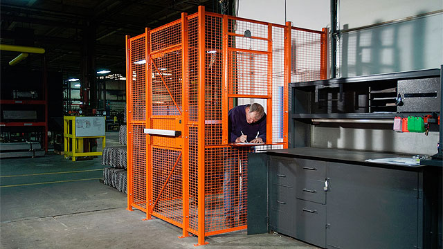 driver cage for safe distancing