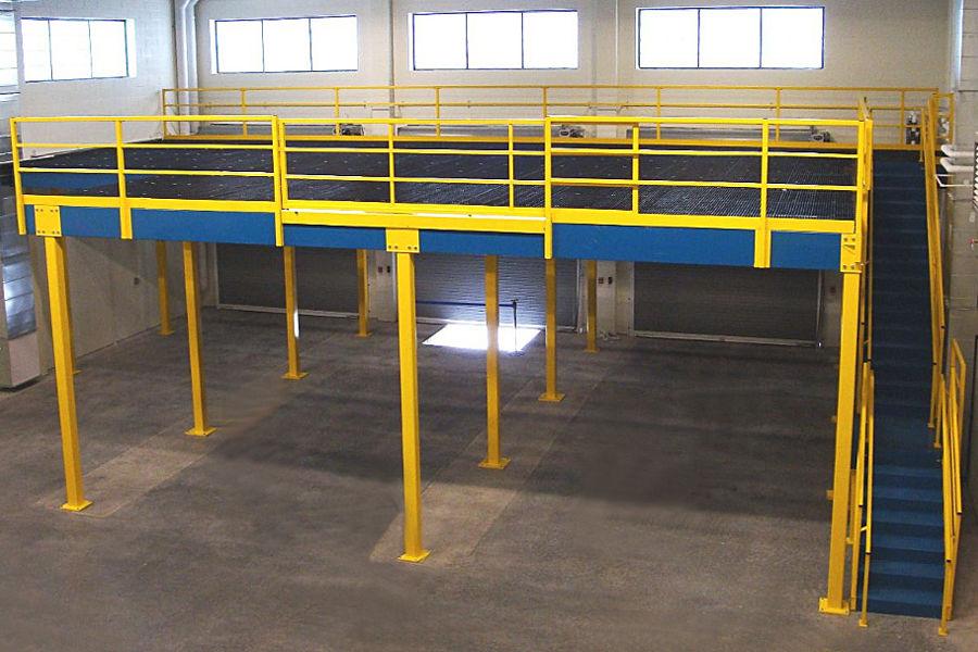 mezzanine in facility