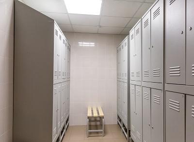 industrial locker room