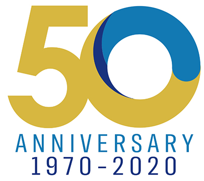 Cisco-Eagle 50 anniversary logo