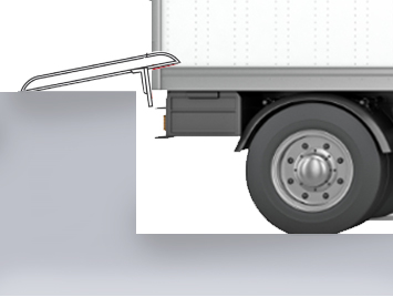 A snug fit between dock and truck, gapped with a dockboard.
