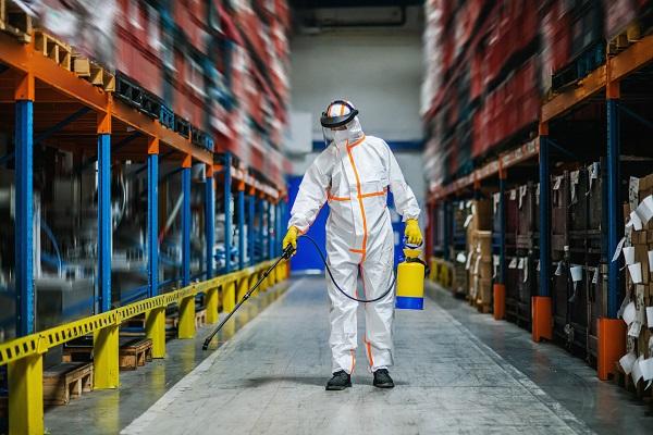 sanitizing warehouse
