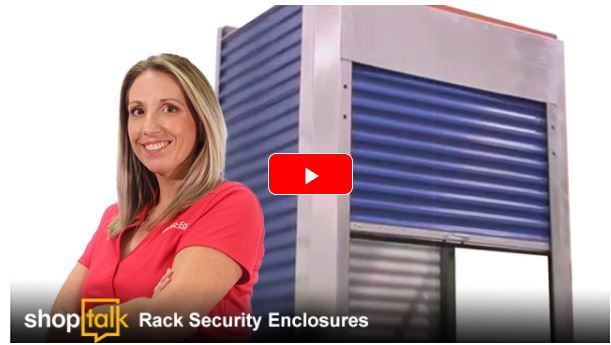 shoptalk on rack enclosures with Tina