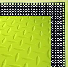 yellow floor mat