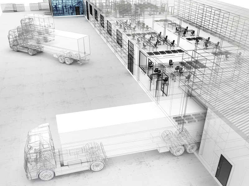 warehouse security layout