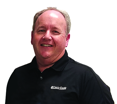 Kevin Harwell, Cisco-Eagle Employee-Owner of the Year