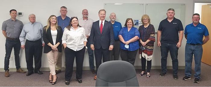 Congressman Kevin Hern visits Cisco-Eagle Tulsa Office