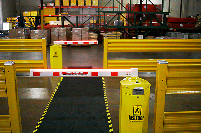 AisleCop forklift safety system